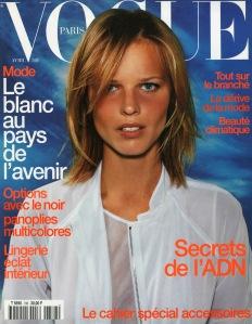 Eva Herzigova by Mario Testino Vogue Paris April 1998