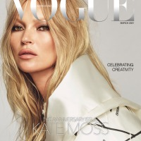 Kate Moss Throughout the Years in Vogue