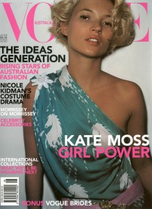 Kate Moss by Mario Testino Vogue Australia June 2001