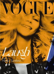 Kate Moss by Mario Testino Vogue Italia February 2016