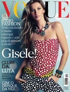 Gisele Bundchen: todas as capas da Vogue Brasil estreladas pela top
