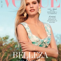 Lara Stone Throughout the Years in Vogue