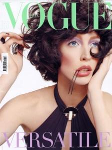 Raquel Zimmermann by Steven Meisel Vogue Italia August 2011