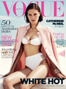Catherine McNeil by Benny Horne Vogue Australia November 2012