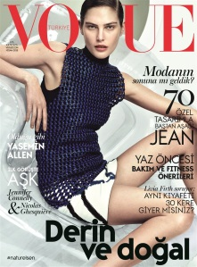 Catherine McNeil by David Slijper Vogue Turkey April 2015