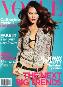 Catherine McNeil by Max Doyle Vogue Australia February 2011