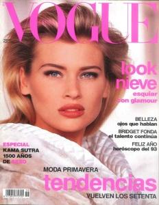 Daniela Pestova Vogue Spain January 1993