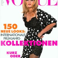 Estelle Lefébure Throughout the Years in Vogue