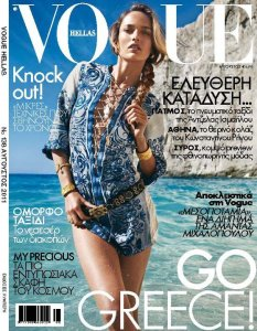 Karmen Pedaru by Cedric Buchet Vogue Hellas August 2011