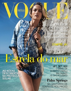 Karmen Pedaru by Cedric Buchet Vogue Portugal August 2011