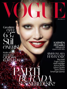 Karmen Pedaru by Cuneyt Akeroglu Vogue Turkey December 2013