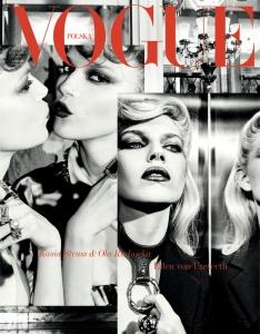 Kasia Struss and Ola Rudnicka by Ellen von Unwerth Vogue Poland April 2019