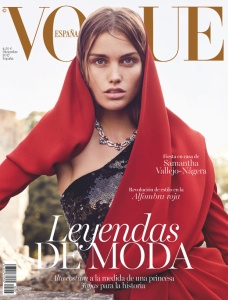 Luna Bijl by Nathaniel Goldberg Vogue Spain December 2017